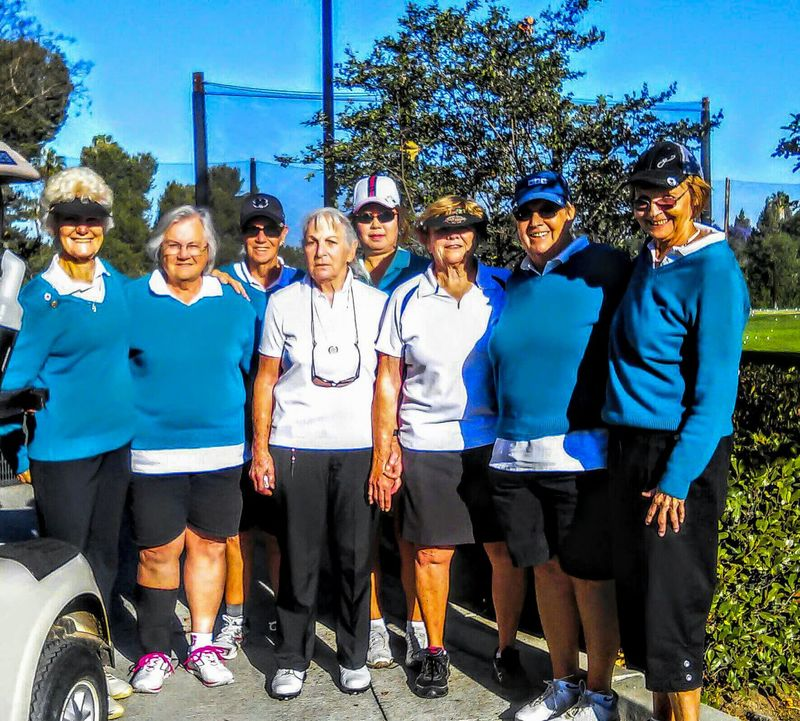 Members of the Women's Club at River View Golf Course